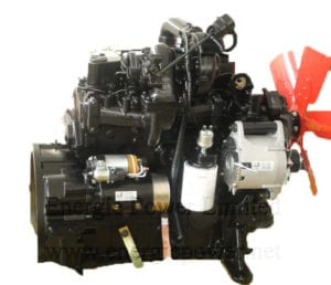 cummins engine 4BTAA3.9-C110