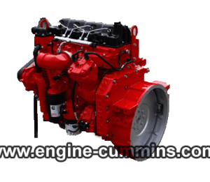 Cummins engine ISF3.8s4154