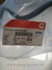 Fuel Supply Tube-5312124
