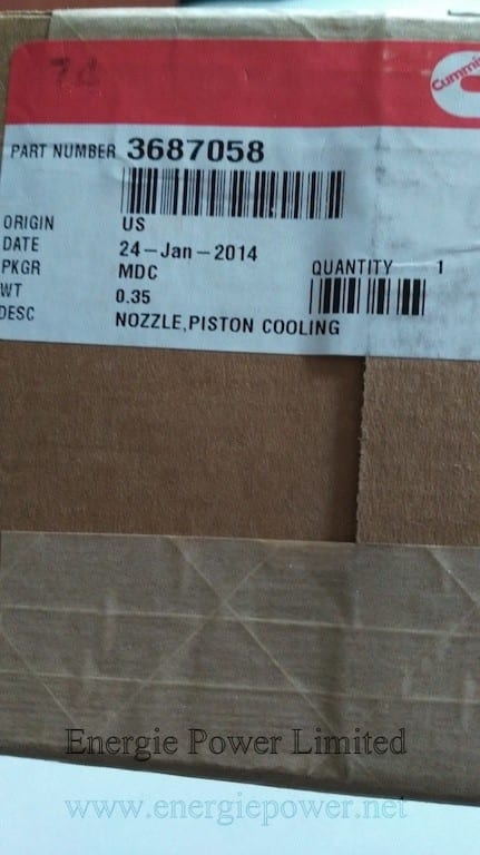 Piston Cooling Nozzle-3687058 (2)
