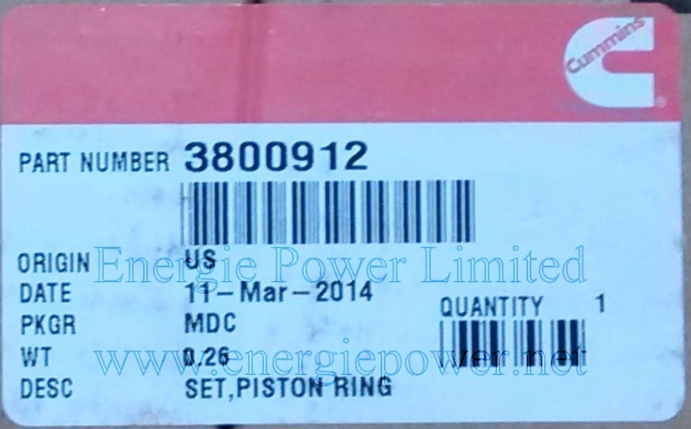Piston Ring Kit-3800912 (1)