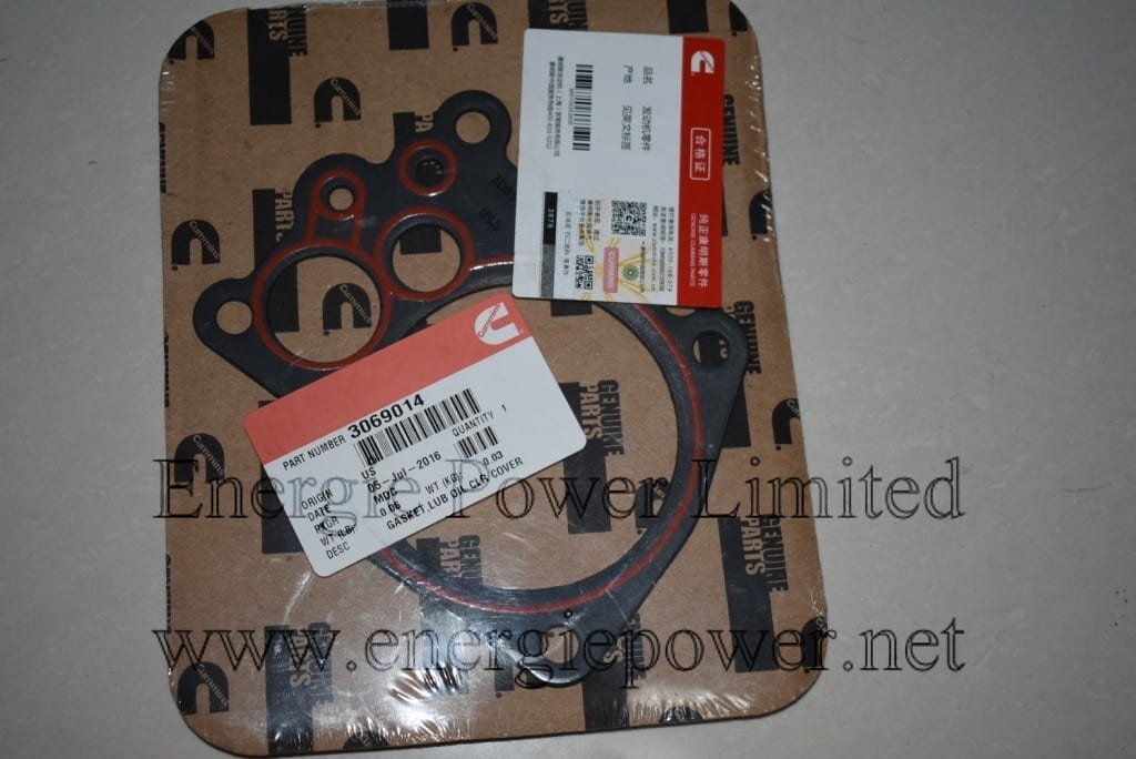 3069014 gasket,lub oil clr cover
