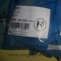 Bosch Valve Component F00RJ00005