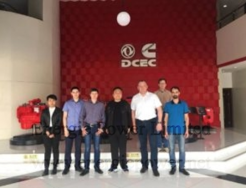 ZAO CUMMINS KAMA delegation sets a high value on Dongfeng Cummins